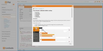 """Markdown preview of the """"Description"""" attribute in the admin. console"""