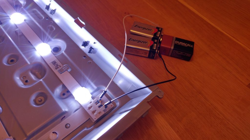 LED strip tester