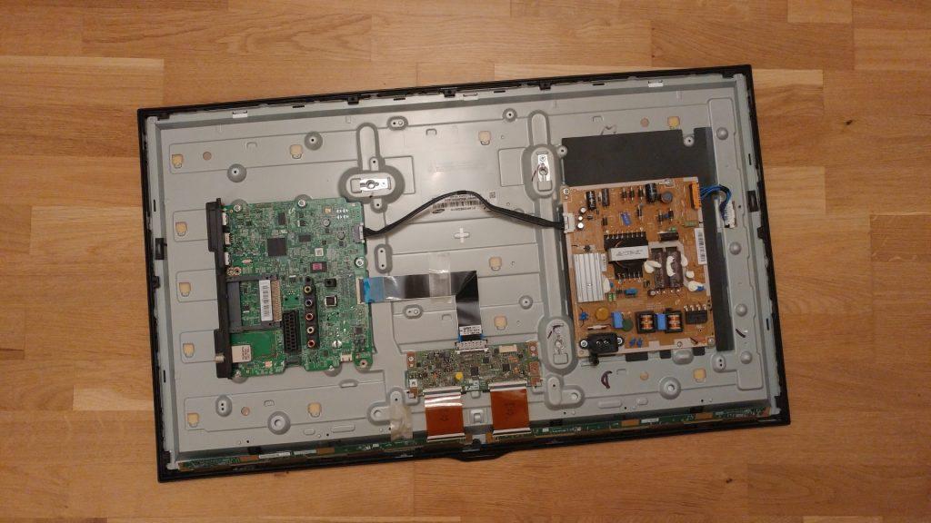 Rear panel - Boards